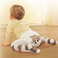 Baby Butt tights with knee pads