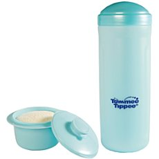 Rotho bottle warmer with milk powder container