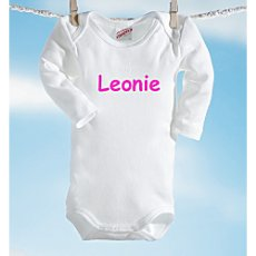 Sanetta long sleeve bodysuit