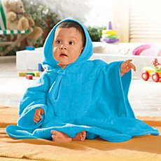 Baby Butt poncho bathrobe