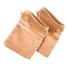 Pack of 2 Erwin Müller wash mitts, Tübingen