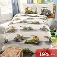 Kinderbutt Renforcé duvet cover set, farmyard
