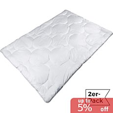 Pack of 2 Erwin Müller duo quilted duvets