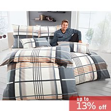 Erwin Müller flannel duvet cover set