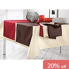 Curt Bauer easy-iron table runner Petito
