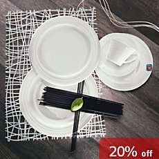 12-pc tableware set