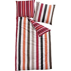 Biberna reviersible seersucker duvet cover