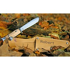 Knife with name engraving
