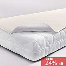 Dormisette reversible mattress topper,
