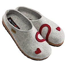 Haflinger wool slippers