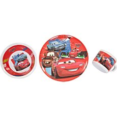 3-pc breakfast set, Cars