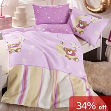 3-pc children duvet cover set, bear