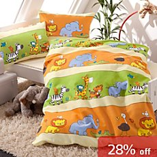 Baby Butt 3-pc duvet cover set, animals