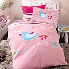 Kinderbutt cotton flannel duvet cover set