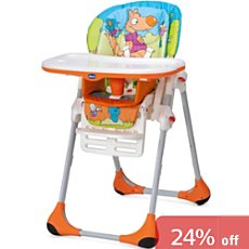 Chicco  high chair, polly 2-in-1