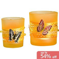 Pack of 2 Gilde candle holders