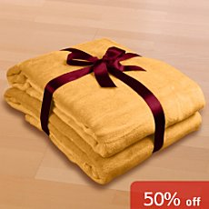 Pack of 2 Bocasa home blankets