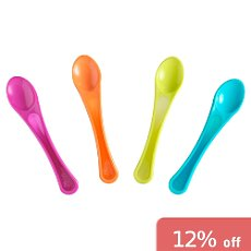 Pack of 4 Tommee Tippee learner´s spoons