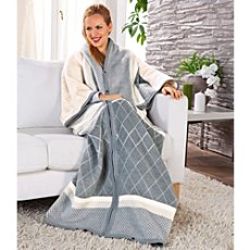 Biederlack  blanket with sleeves