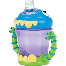 Nuby non-spill learner´s cup, Monster