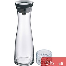 WMF water carafe with cleaning pearls