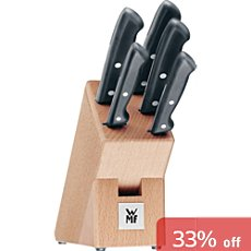 WMF  knife block, 6-parts