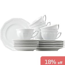 Rosenthal Selection Maria 18-pc coffee service set
