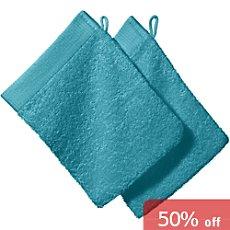 Pack of 2 Erwin Müller wash mitts,