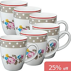 6-pk coffee mugs