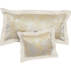 Bauer cotton brocade damask pillowcase