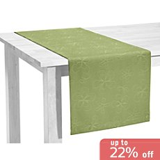 Erwin Müller stain-resistant table runner