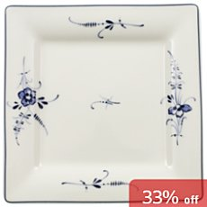 Villeroy & Boch square-shaped plate