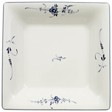 Villeroy & Boch square-shaped deep plate