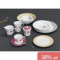 18-pc coffee serving set