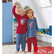 Kinderbutt pyjamas in 4-pc saving pack