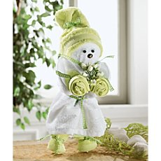 Towel gift set, puppet