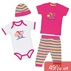 Baby Butt 4-pc clothing set