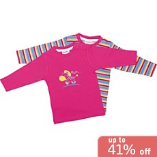 Pack of 2 Baby Butt long sleeve T-shirts