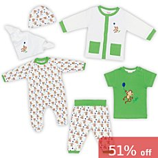Baby Butt 6-pc clothing set