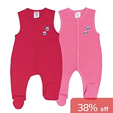 Pack of 2 Baby Butt rompers