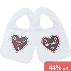 Pack of 2 Baby Butt bibs