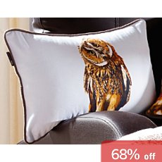 Pichler cushion cover, owl
