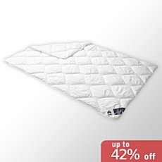 Irisette lightweight quilted duvet,