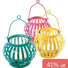 Pack of 3 candle holders