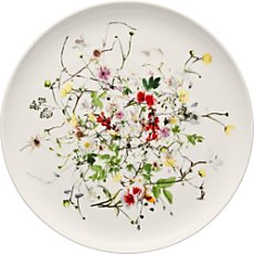 Rosenthal bread plate, Selection Fleurs Sauvages