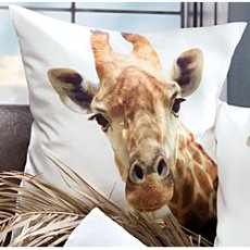 Erwin Müller cushion cover, giraffe