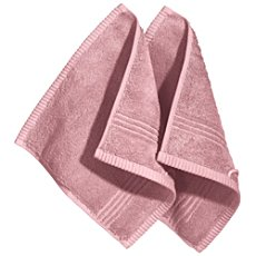 Pack of 2 Erwin Müller full terry face cloths, Konstanz
