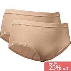 Conta full briefs in double pack