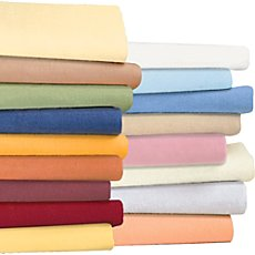 Irisette fine cotton flannel fitted sheet