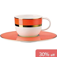 Rosenthal Selection Brillance Accent 2-pc espresso set